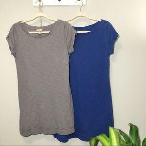 2 Banana Republic cotton shirt dresses
